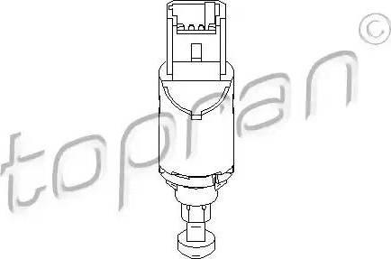 Topran 207436 - Выключатель, привод сцепления (Tempomat) car-mod.com