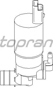 Topran 207 666 755 - Водяной насос, система очистки окон autodnr.net