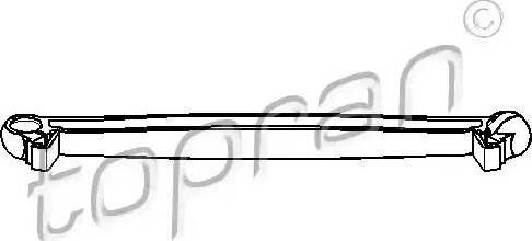 Topran 207 688 - Шток вилки перемикання передач autocars.com.ua