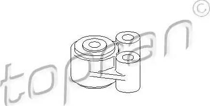 Topran 304 015 - Підвіска, автоматична коробка передач autocars.com.ua