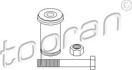 Topran 400 087 - Ремкомплект, направляющий, маятниковый рычаг car-mod.com