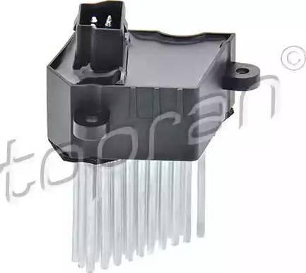 Topran 501 518 - Регулятор, вентилятор салона car-mod.com