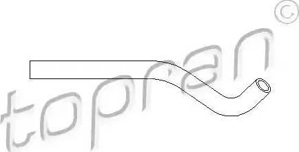 Topran 501556 - Гидравлический шланг, рулевое управление avtokuzovplus.com.ua