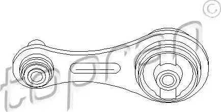 Topran 700 528 - Подушка, подвеска двигателя car-mod.com