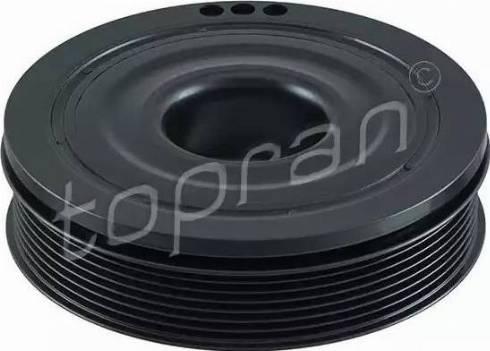 Topran 700 986 - Ременный шкив, коленчатый вал car-mod.com