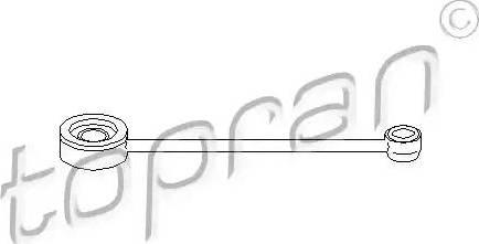 Topran 721 269 - Шток вилки перемикання передач autocars.com.ua