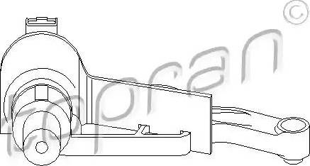 Topran 721 681 - Датчик импульсов, коленвал car-mod.com