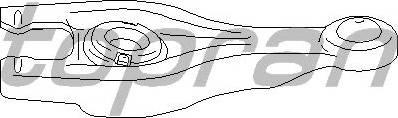 Topran 722 392 466 - Возвратная вилка, система сцепления car-mod.com