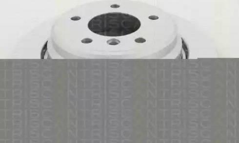 Triscan 8120 11135C - Тормозной диск autodnr.net