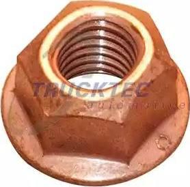 Trucktec Automotive 0216047 - Гайка, выпускной коллектор autodnr.net