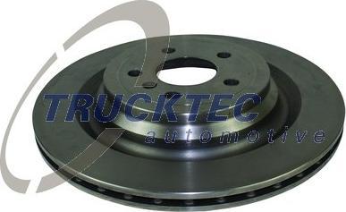 Trucktec Automotive 02.35.499 - Тормозной диск autodnr.net