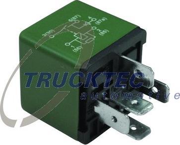Trucktec Automotive 0242353 - Реле, регулировка дорожного просвета car-mod.com