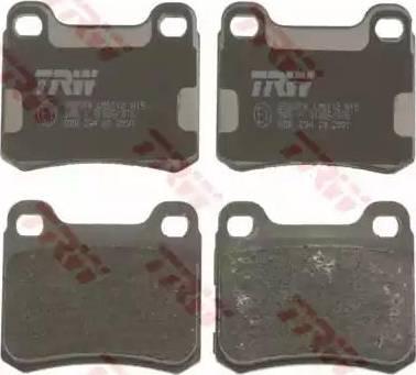 TRW GDB294 - Комплект тормозных колодок, дисковый тормоз autodnr.net