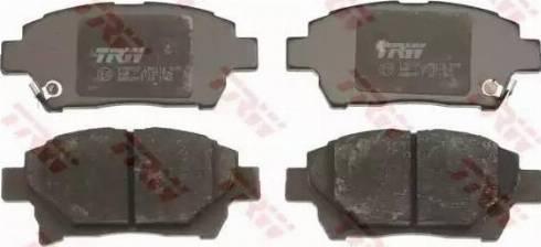 TRW GDB3317 - Комплект тормозных колодок, дисковый тормоз autodnr.net