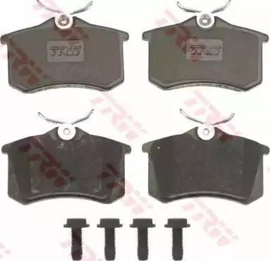 TRW GDB823 - Комплект тормозных колодок, дисковый тормоз autodnr.net