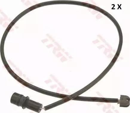 TRW GIC292 - Сигнализатор, износ тормозных колодок autodnr.net