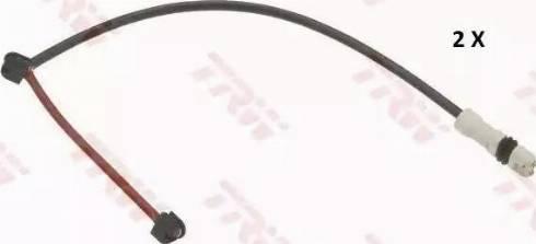 TRW GIC301 - Сигнализатор, износ тормозных колодок autodnr.net