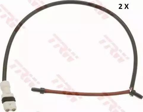 TRW GIC305 - Сигнализатор, износ тормозных колодок autodnr.net