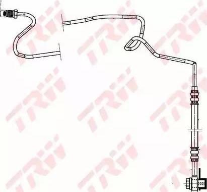 TRW PHD942 - Тормозной шланг car-mod.com