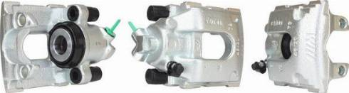 Turbo Motor BR006050 - Тормозной суппорт avtokuzovplus.com.ua