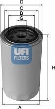 UFI 23.102.03 - Масляний фільтр autocars.com.ua