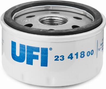 UFI 23.418.00 - Масляний фільтр autocars.com.ua