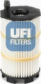 UFI 25.143.00 - Масляний фільтр autocars.com.ua