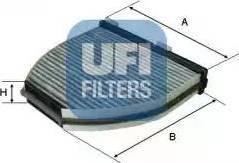 UFI 54.163.00 - Фильтр салонный autodnr.net