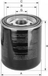 Uniflux Filters XD2 - Патрон осушувача повітря, пневматична система autocars.com.ua