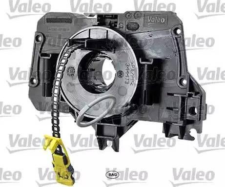 Valeo 251644 - Витая пружина, подушка безопасности car-mod.com