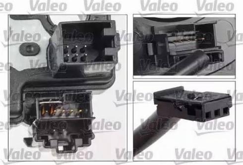 Valeo 251663 - Витая пружина, подушка безопасности autodnr.net