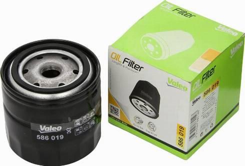 Valeo 586019 - Масляный фильтр car-mod.com