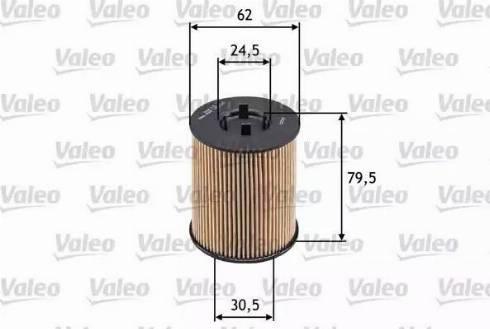 Valeo 586539 - Масляный фильтр autodnr.net