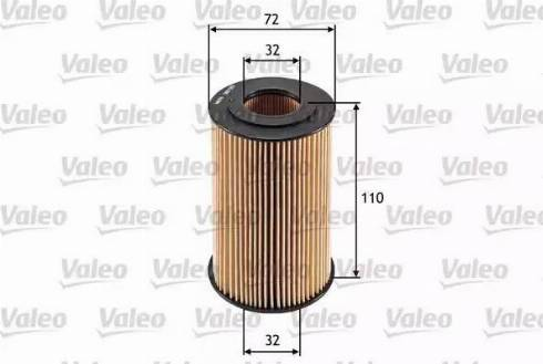Valeo 586565 - Масляний фільтр autocars.com.ua