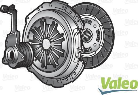 Valeo 834243 - Комплект сцепления autodnr.net