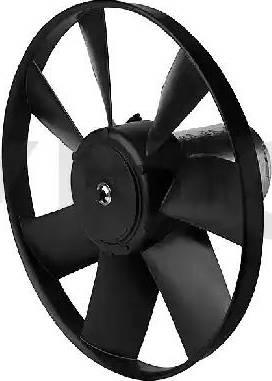 VDO 5WK05250-V - Вентилятор, охлаждение двигателя car-mod.com