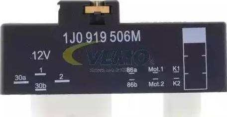 Vemo V15-71-0035 - Реле, продольный наклон шкворня вентилятора car-mod.com