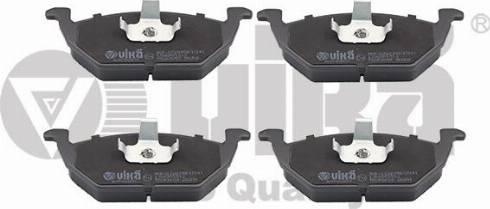 Vika 66980008701 - Комплект тормозных колодок, дисковый тормоз autodnr.net