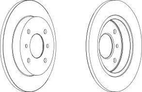 A.B.S. 16104 - Тормозной диск autodnr.net