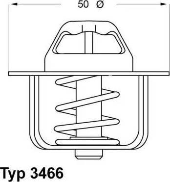 RIDER RD.1517604789 - Термостат, охлаждающая жидкость car-mod.com
