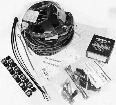 Westfalia 300210300107 - Комплект электрики, прицепное оборудование car-mod.com