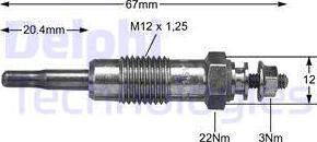 Wilmink Group WG1499276 - Свеча накаливания car-mod.com