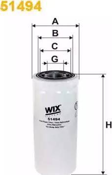 WIX Filters 51494 - Фільтр, Гідравлічна система приводу робочого устаткування autocars.com.ua