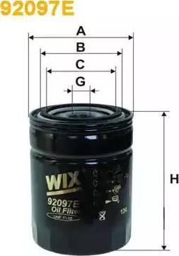 WIX Filters 92097E - Фільтр, Гідравлічна система приводу робочого устаткування autocars.com.ua
