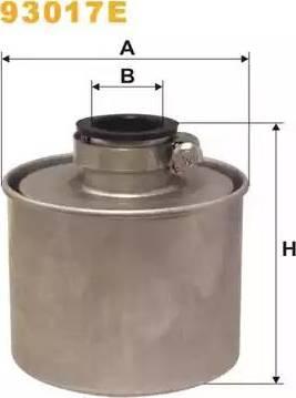 WIX Filters 93017E - Воздушный фильтр, компрессор - подсос воздуха car-mod.com