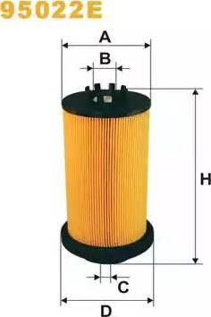 WIX Filters 95022E - Паливний фільтр autocars.com.ua