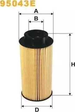 WIX Filters 95043E - Паливний фільтр autocars.com.ua