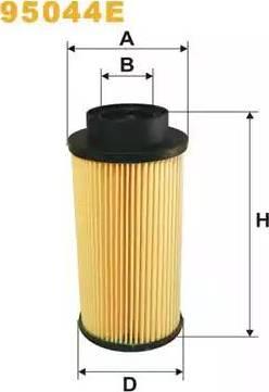 WIX Filters 95044E - Паливний фільтр autocars.com.ua