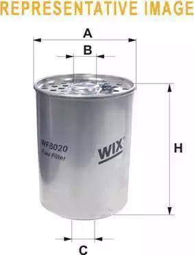 WIX Filters WF8018 - Паливний фільтр autocars.com.ua