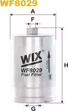 WIX Filters WF8029 - Паливний фільтр autocars.com.ua